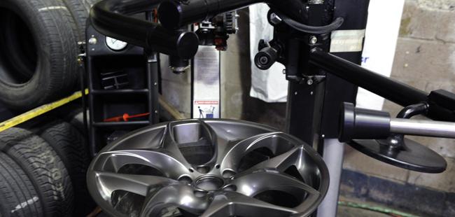 Tire installation - performance rims