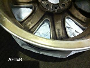 bent rim repairs