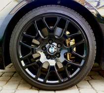 BMW Rim repair and refinishing
