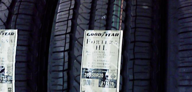 Goodyear Fortera Tire Sale