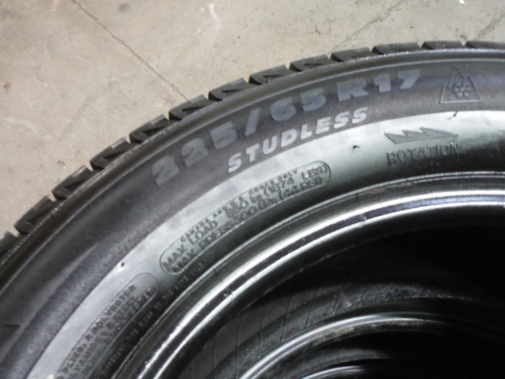Michelin X Ice 225 65r17 Winter Tires Sold Tirehaus New And