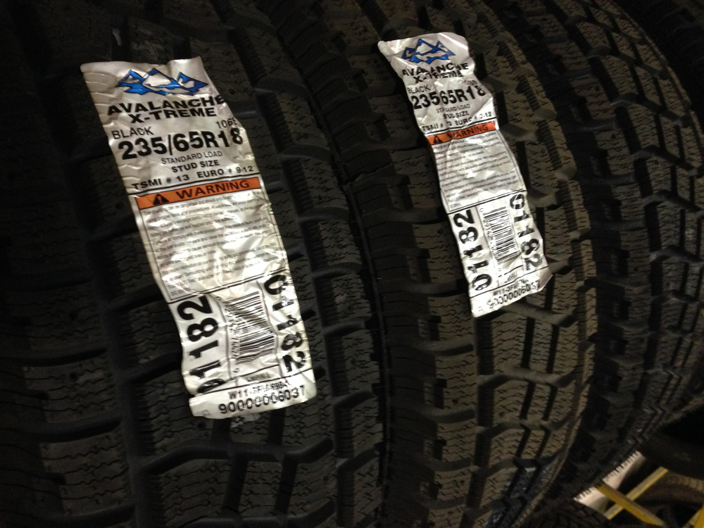 Hercules Winter Tires on Special