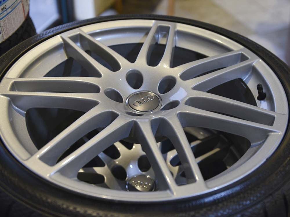 Audi Rims With Continental R Tires SOLD Tirehaus - Audi rims