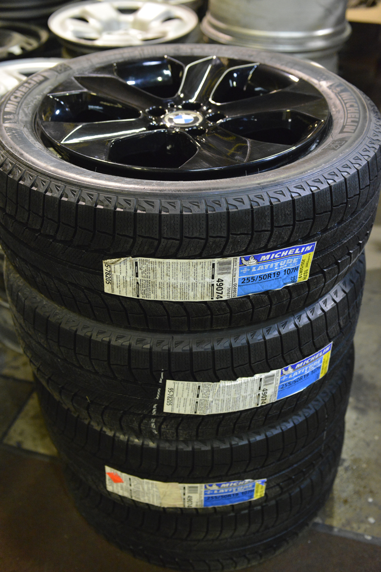 Bmw X6 19 Rims And Michelin Winter Tires Tirehaus New