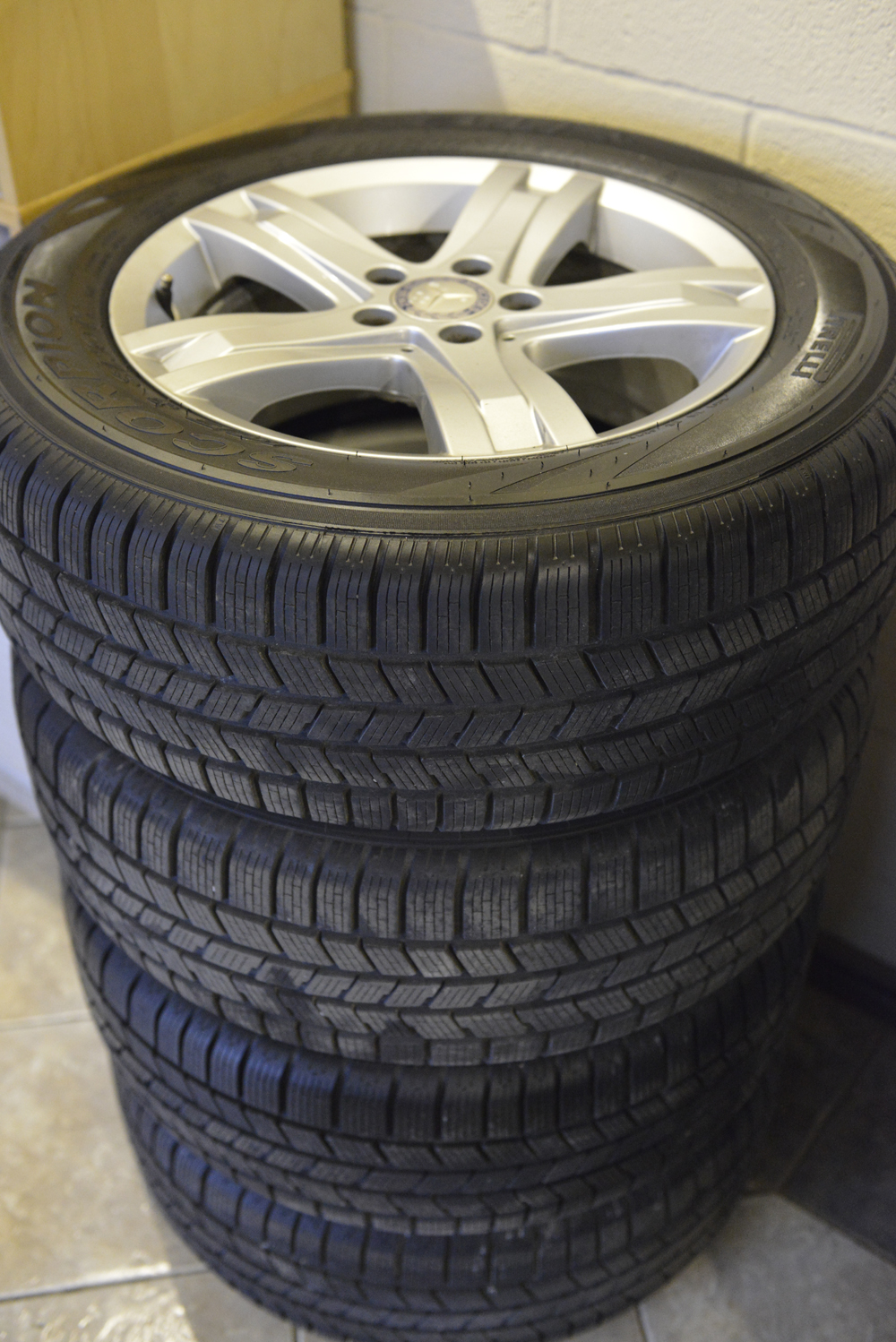Mercedes glk rims and tires for sale