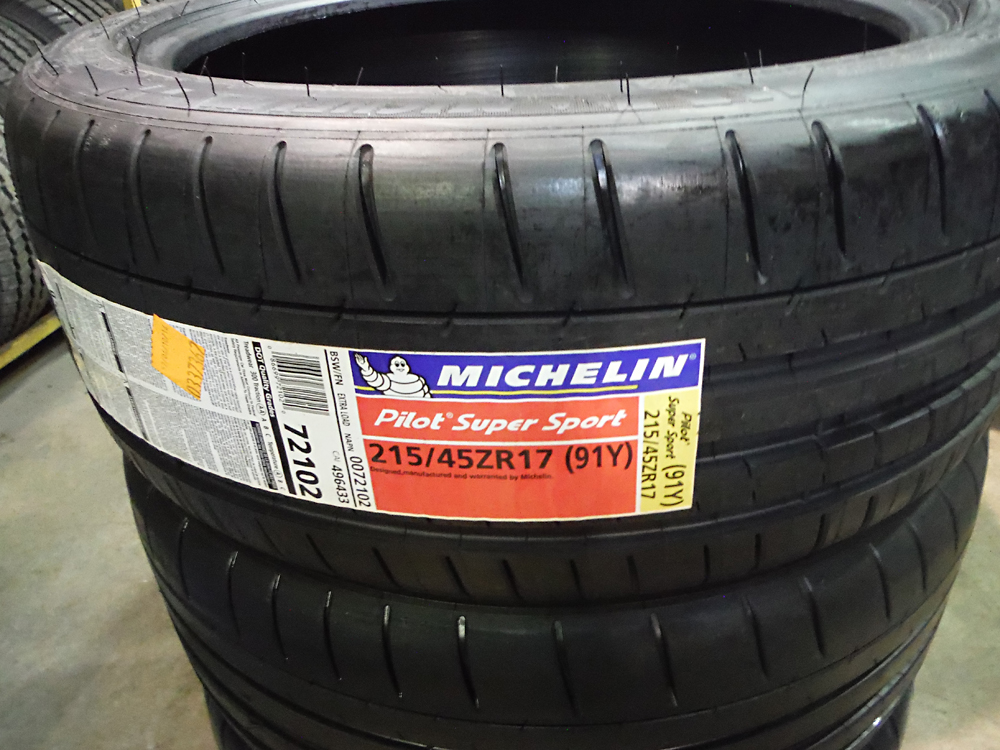 michelin pilot super sport 215 45r17 tires sold tirehaus new and used tires and rims. Black Bedroom Furniture Sets. Home Design Ideas