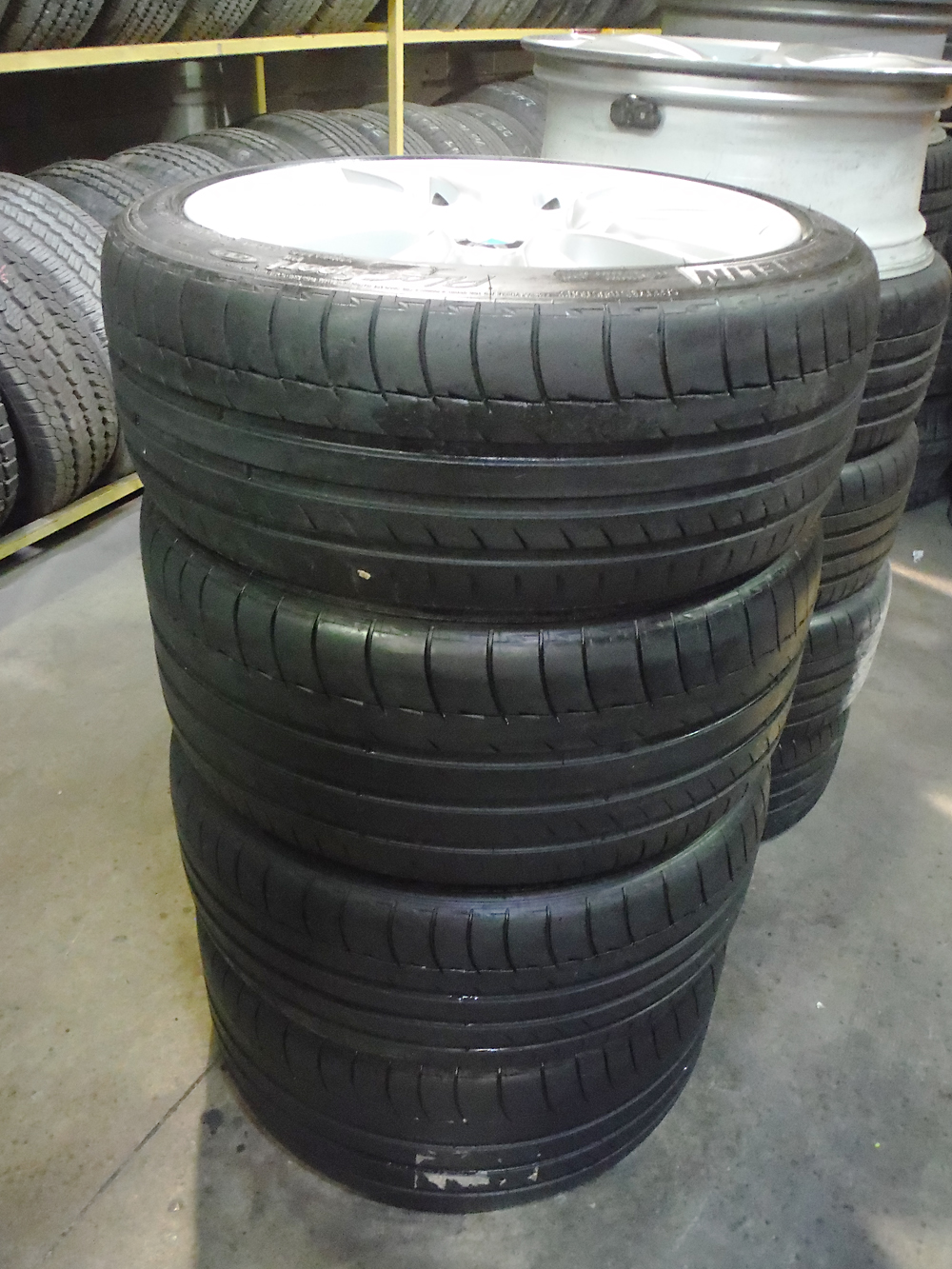 BMW used michelin tires for sale
