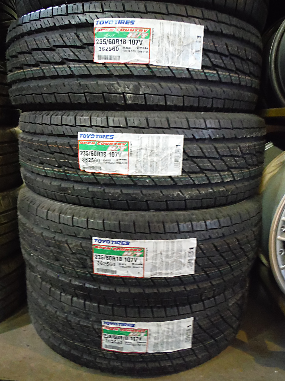 18 Inch Rims And Tires >> Toyo 235/60R18 Open Country Tires – SOLD | Tirehaus | New ...