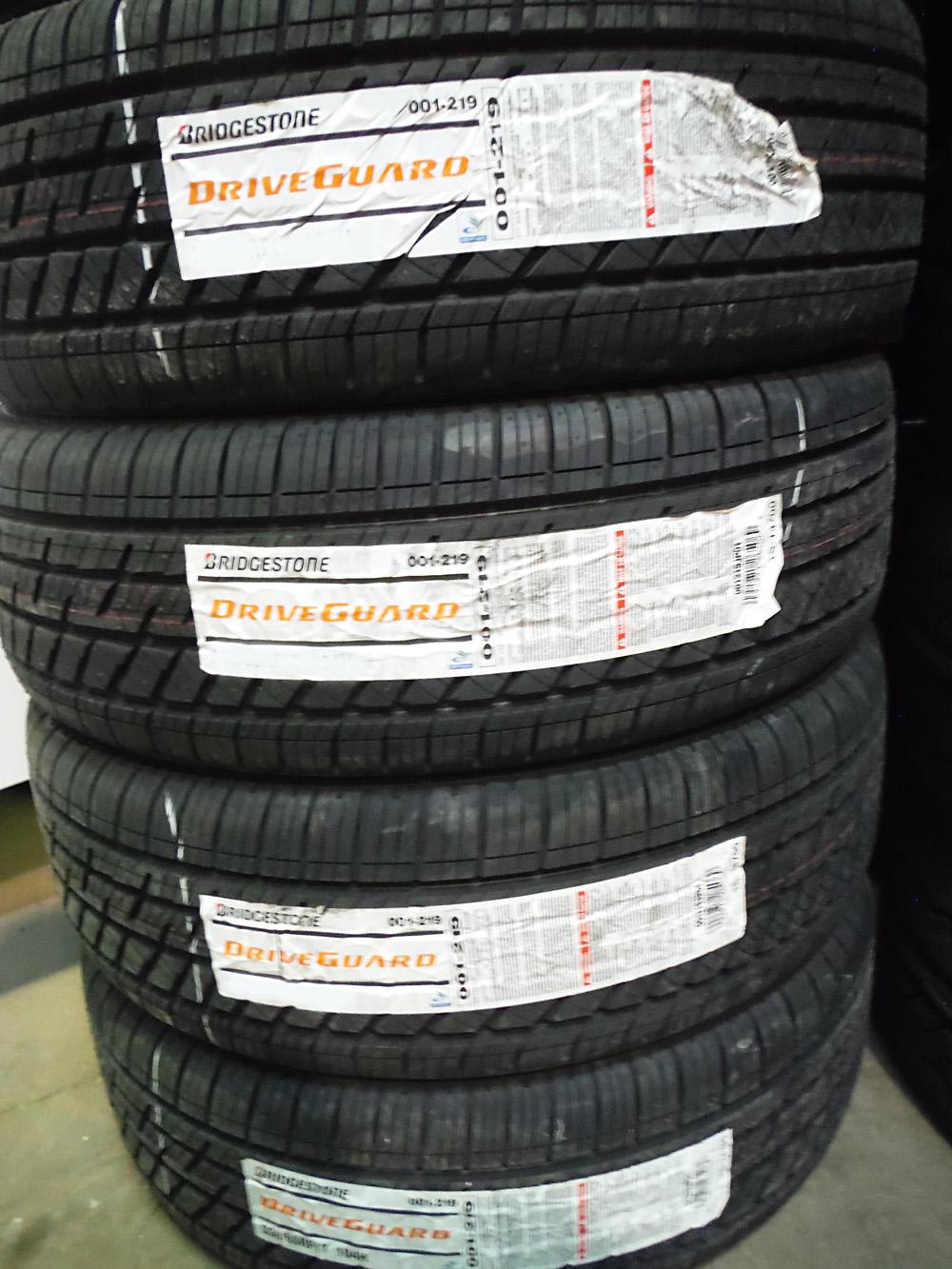 bridgestone-driveguard tires 235-55-18