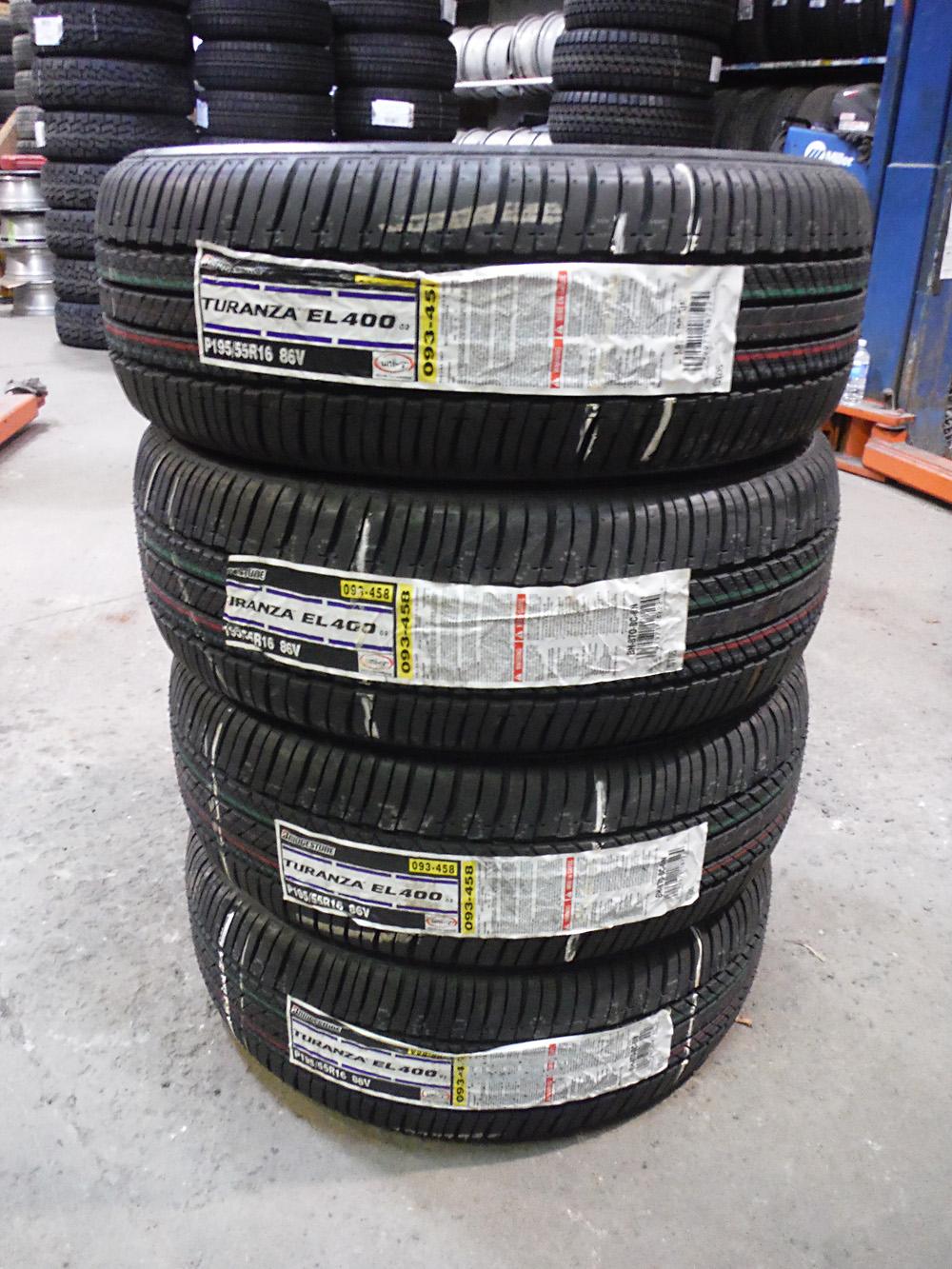 Bridgestone Turanza 195/55R16 Tires for sale