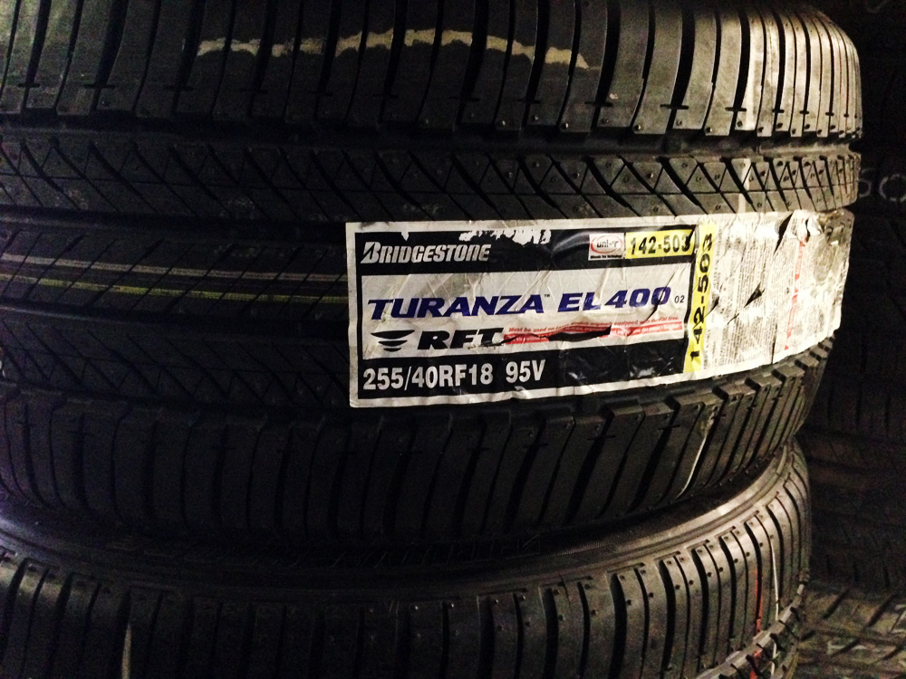 Bridgestone Turanza Tires 255-40-18