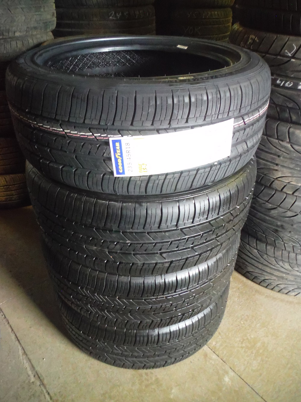 Goodyear 235/45R18 tires for sale