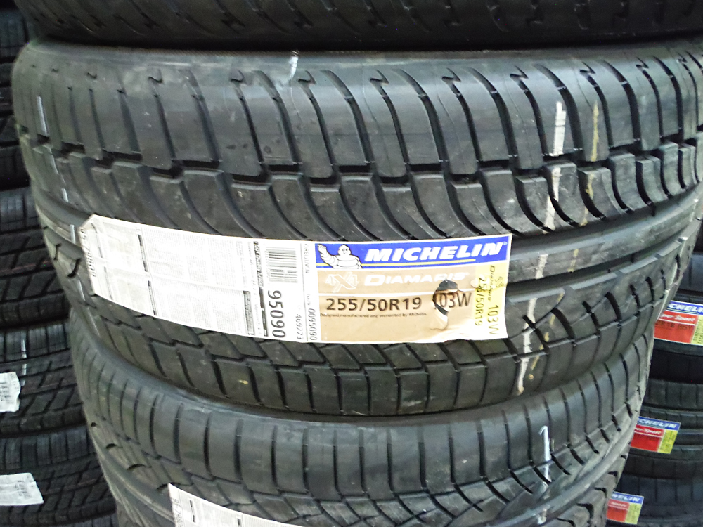 michelin diamaris 255 50r19 performance tires sold. Black Bedroom Furniture Sets. Home Design Ideas