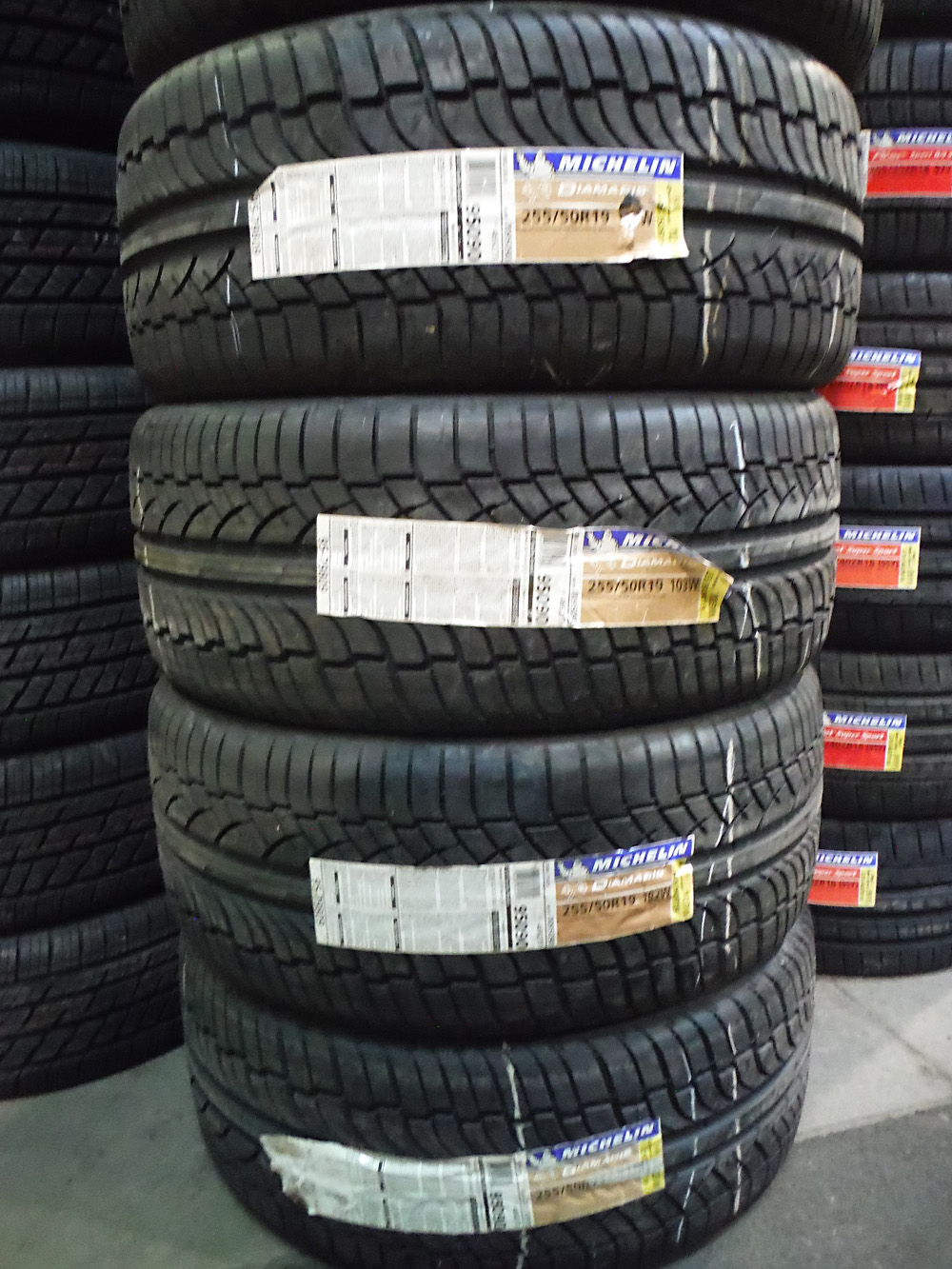 Michelin Diamaris tires for sale