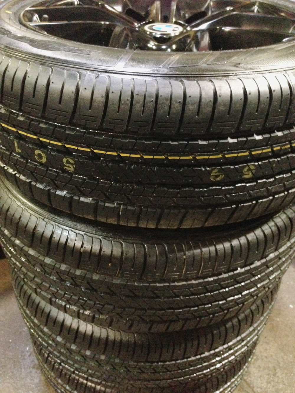 bmw x3 rims and tire set for sale