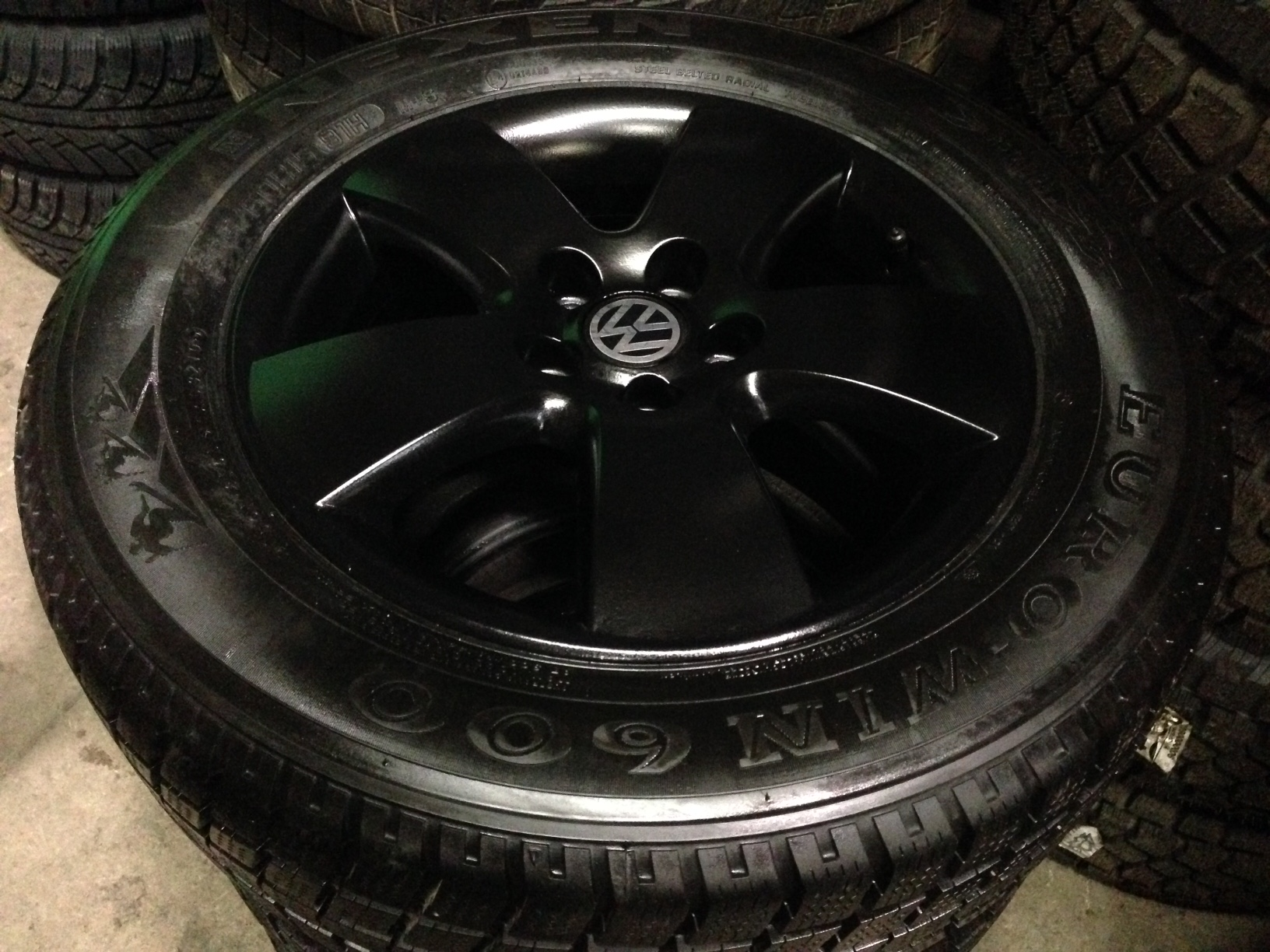 vw Golf Jetta winter rims and tires for sale