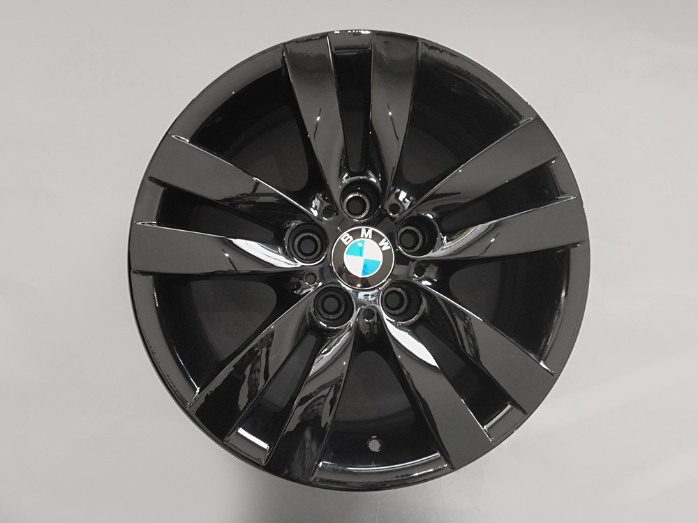 bmw 335 black rims 17