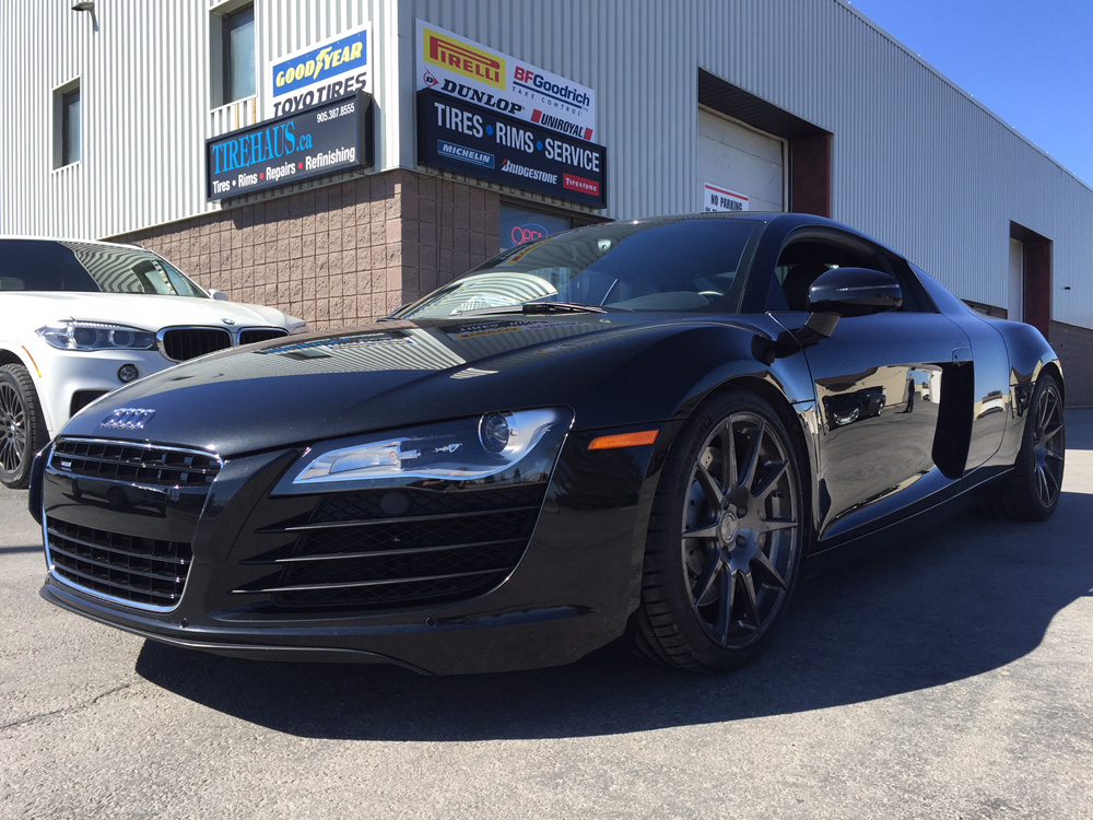 Michelin 4S tires for Audi R8