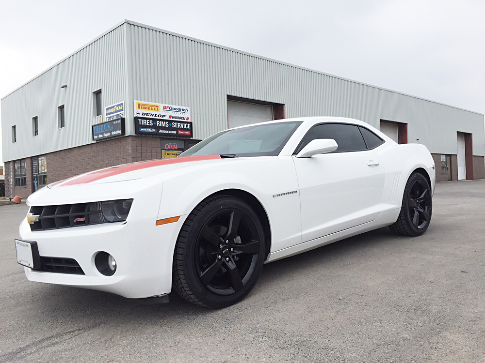 Chevy Camaro Rim Powdercoating Gloss Black | Tirehaus | New and Used Tires and Rims
