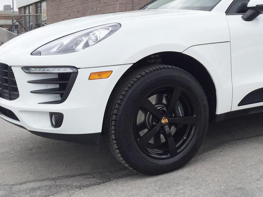 Porsche Macan Rim Refinishing Gloss Black   Tirehaus   New ...