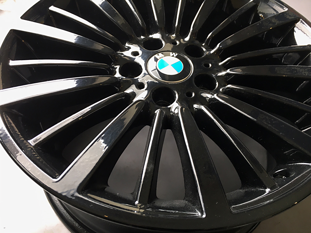 bmw 18 inch gloss black oem rims