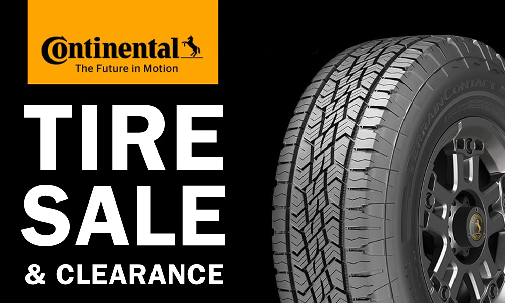 continental tire sale 2018