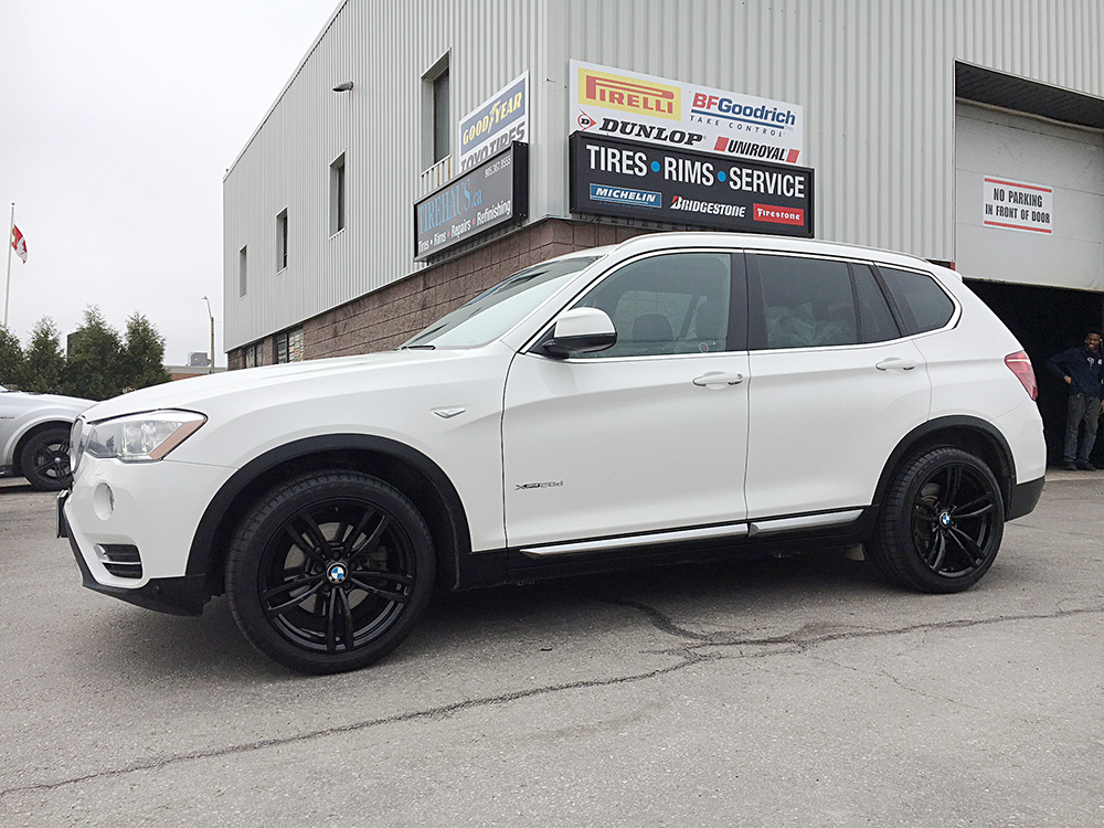 bmw x3 gloss black rims for sale