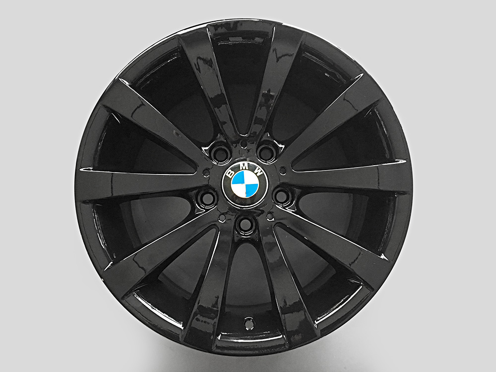 bmw 335i 17inch oem rims black for sale