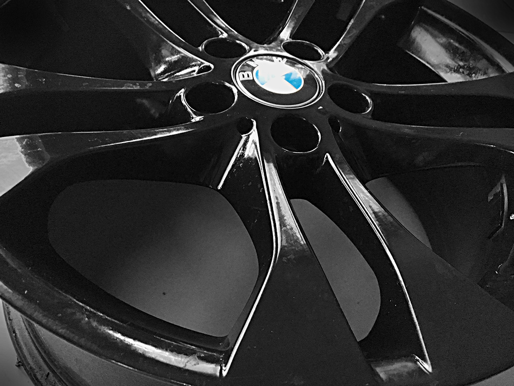 bmw 18 inch black rims for sale