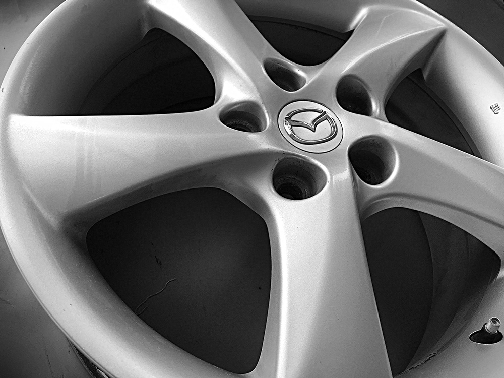 mazda oem 17 inch alloy rims for sale